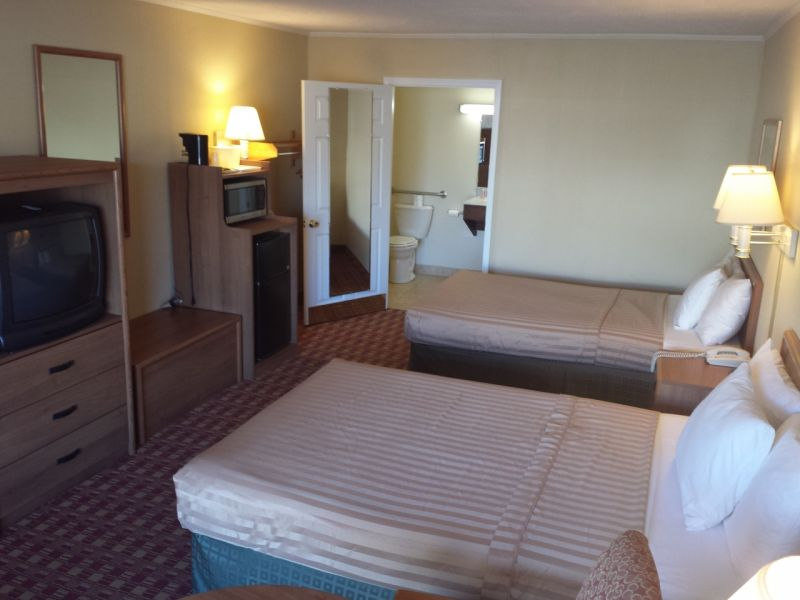 2 Double Bed Size Handicap Rooms